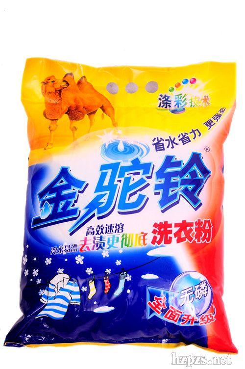 金驼铃牌冷水洗衣粉