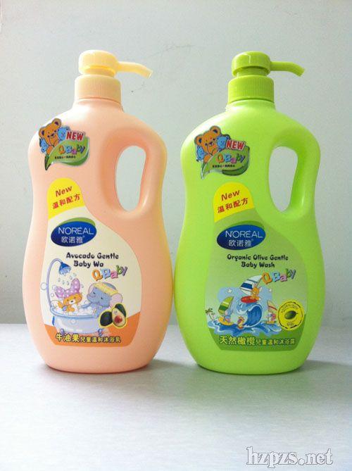 天然橄榄婴儿二合一洗发沐浴露