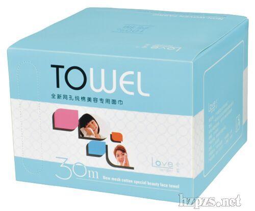 爱柔美容专用洗脸巾