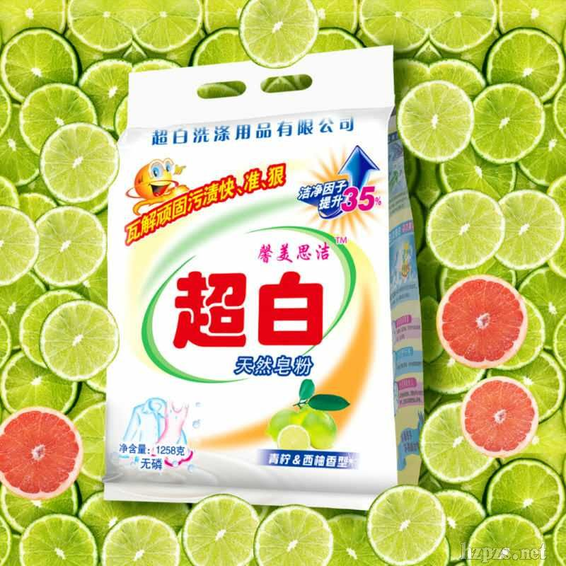 天然无磷香皂粉1258g