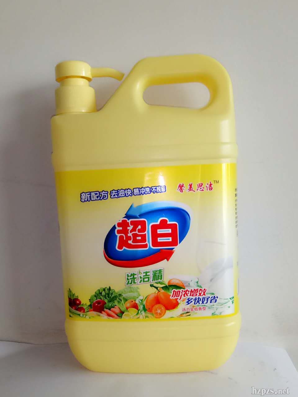 超白***洗洁精(清香柠檬型)