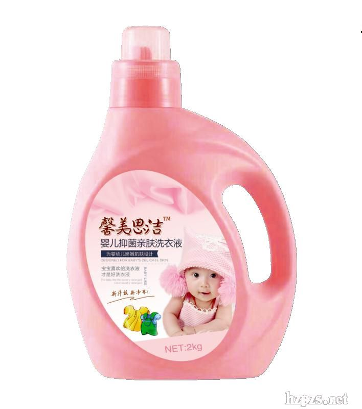 超白婴幼儿洗衣液植翠护理