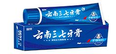 益伢云南三七牙膏酷白健齿