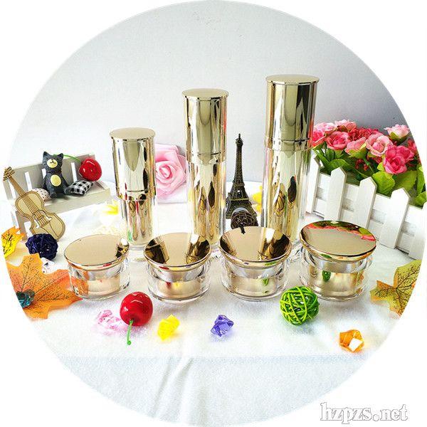 供应亚克力乳液瓶膏霜瓶保健品罐彩妆瓶