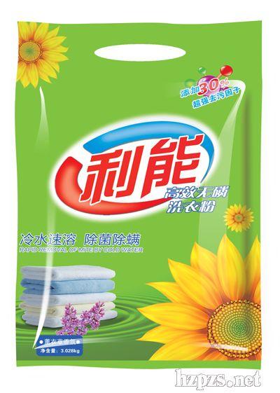 浓缩花香利能无磷洗衣粉