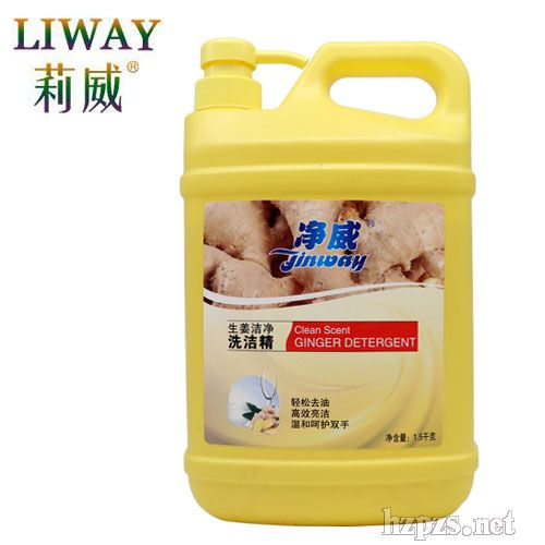 1.5L净威生姜精华洗洁精