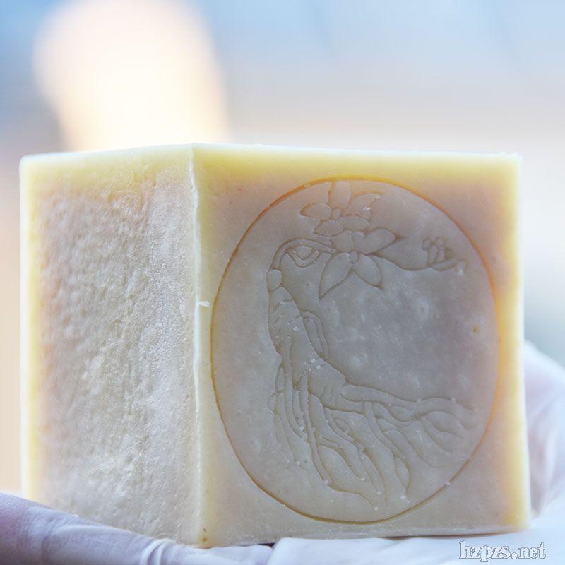 维蜜萱长白山人参皂洁面温和舒缓冷制手工皂