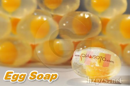 厂家加工出口透明圣诞鸡蛋婴儿香皂创意礼品精